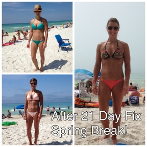 Spring Break 2015 After 21 Day Fix Extreme