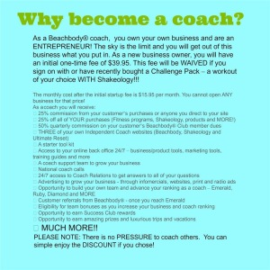 Benefits of being a beachbody coach