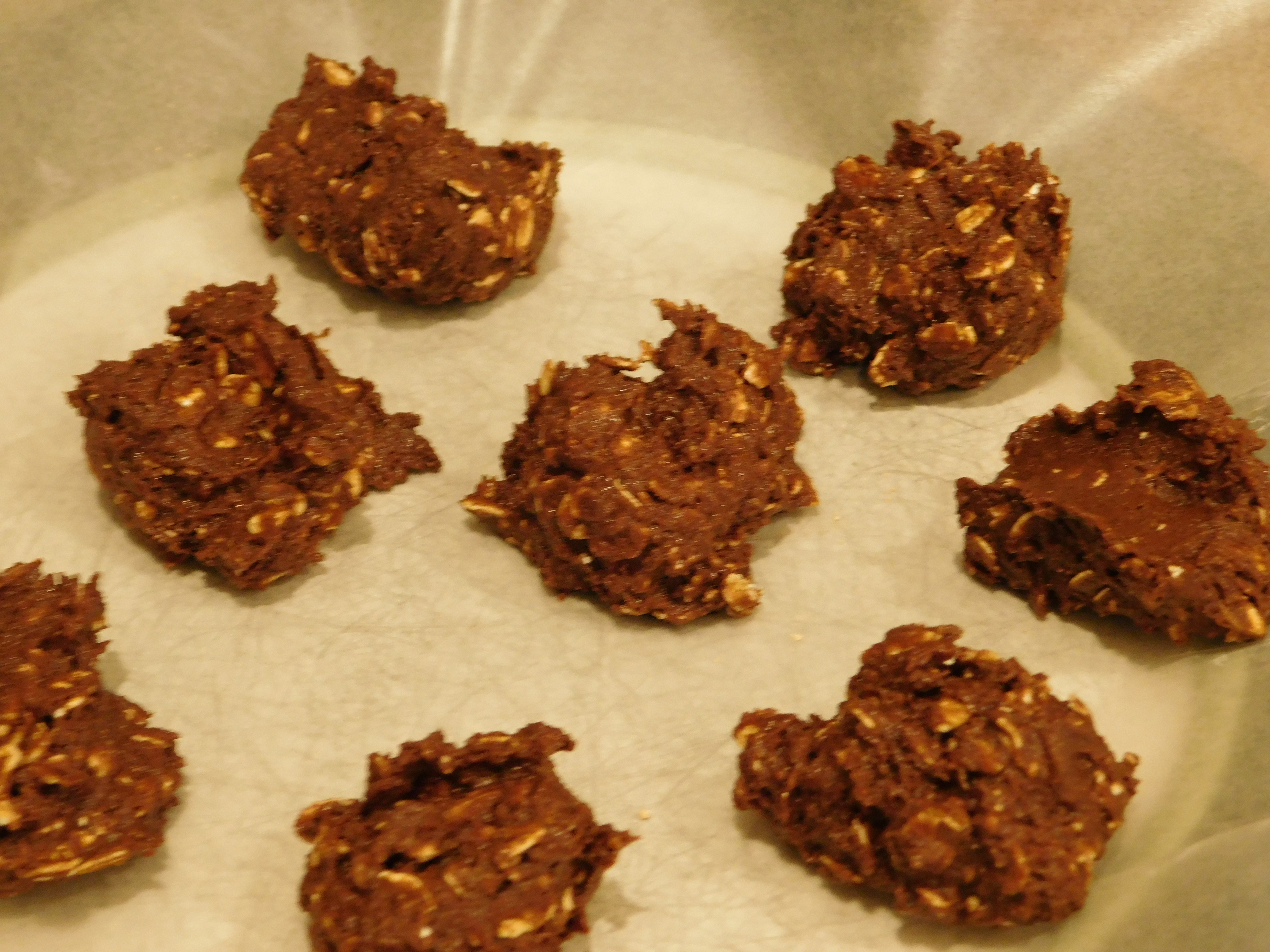 Chocolate No-Bake Cookies